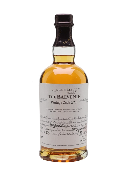 Balvenie 1970 / 30 Year Old Speyside Single Malt Scotch Whisky