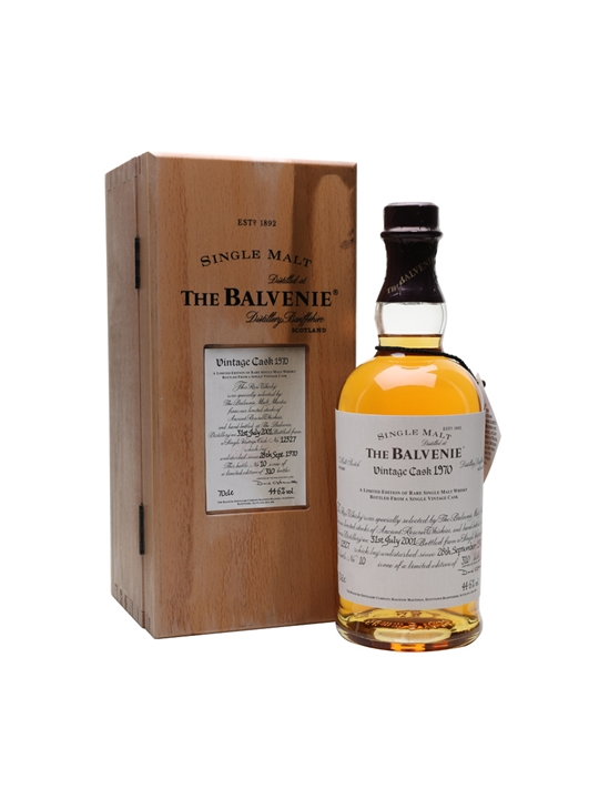 Balvenie 1970 / 30 Year Old / Cask #12527 Speyside Whisky
