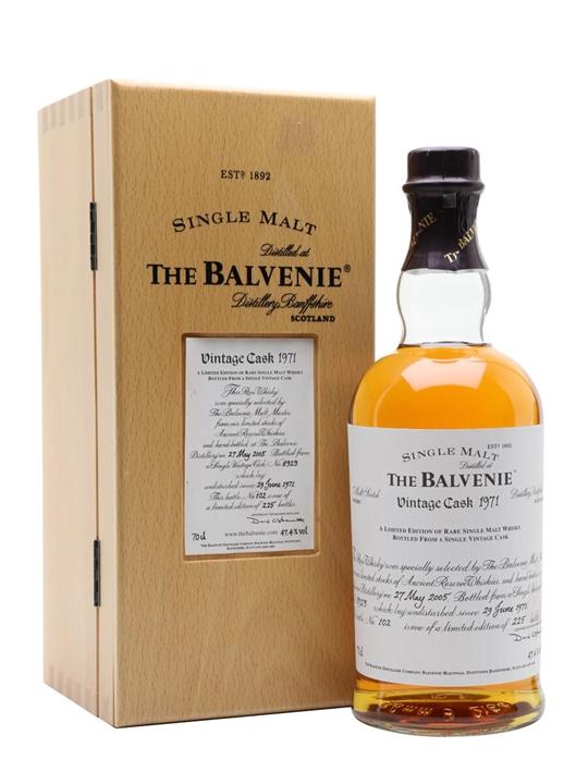 Balvenie 1971 / 33 Year Old / Cask #8923 Speyside Whisky