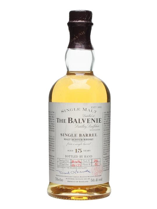 Balvenie 1977 / 15 Year Old / Single Barrel Speyside Whisky