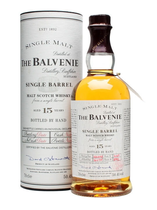 Balvenie 1978 / 15 Year Old / Single Barrel Speyside Whisky