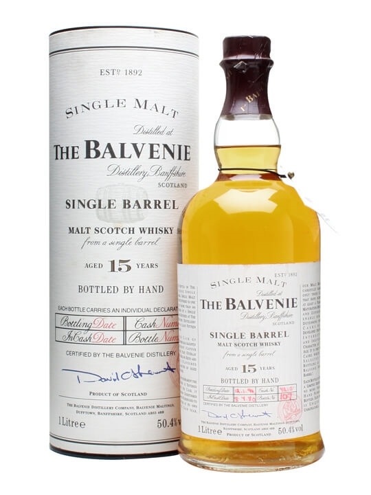 Balvenie 1980 / 15 Year Old / Single Barrel Speyside Whisky