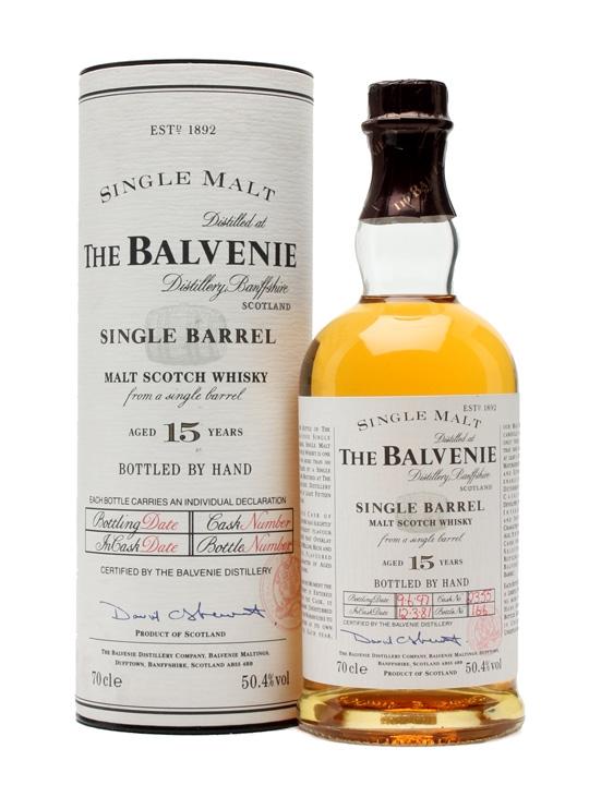 Balvenie 1981 / 15 Year Old / Single Barrel Speyside Whisky