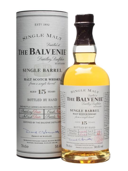 Balvenie 1983 / 15 Year Old / Single Barrel Speyside Whisky