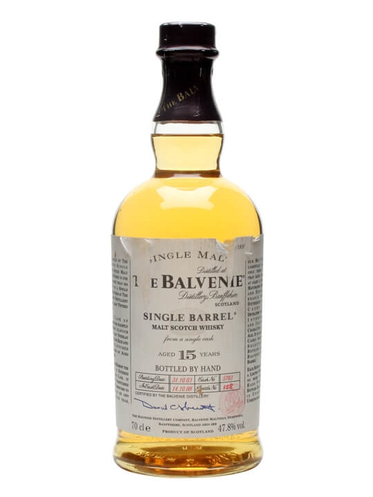 Balvenie 1988 / 15 Year Old / Single Barrel Speyside Whisky