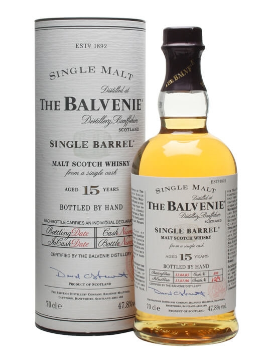 Balvenie 1990 / 15 Year Old / Single Barrel Speyside Whisky