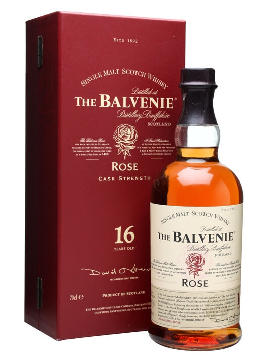 Balvenie 1991 Rose / 16 Year Old / First Release Speyside Whisky