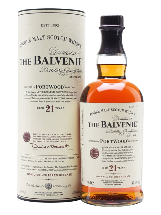 Balvenie 21 Year Old / Port Wood Finish Speyside Whisky