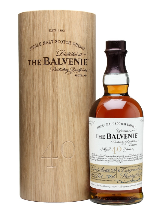 Balvenie 40 Year Old / Batch 4 Speyside Single Malt Scotch Whisky
