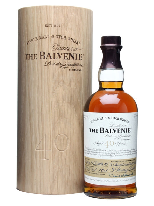 Balvenie 40 Year Old / Batch 5 Speyside Single Malt Scotch Whisky