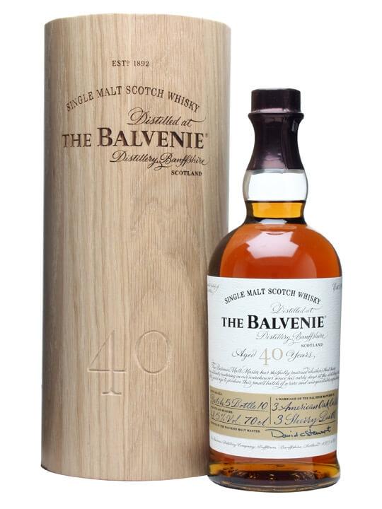 Balvenie 40 Year Old / Batch 5 Speyside Single Malt Scotch Whisky