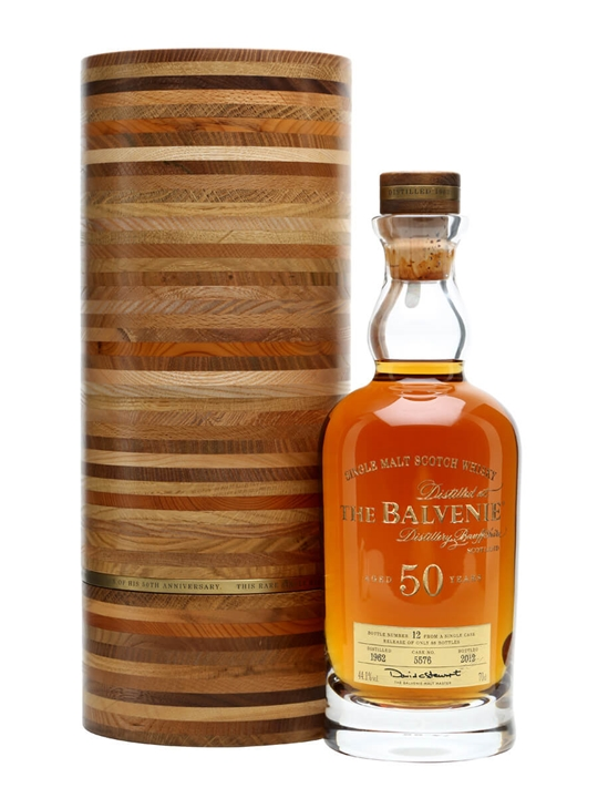 Balvenie 50 Year Old Speyside Single Malt Scotch Whisky