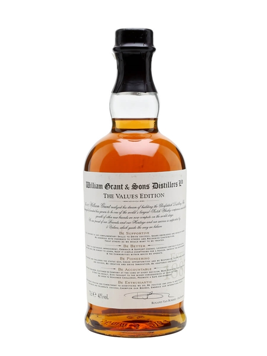 William Grant & Sons / The Values Edition Speyside Whisky