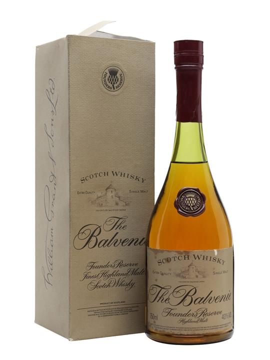 Balvenie Founder&39s Reserve  Bot.1980s Speyside Whisky
