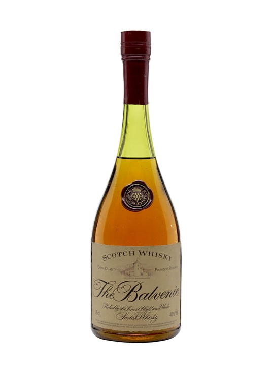 Balvenie Founder's Reserve / Bot.1980s Speyside Whisky