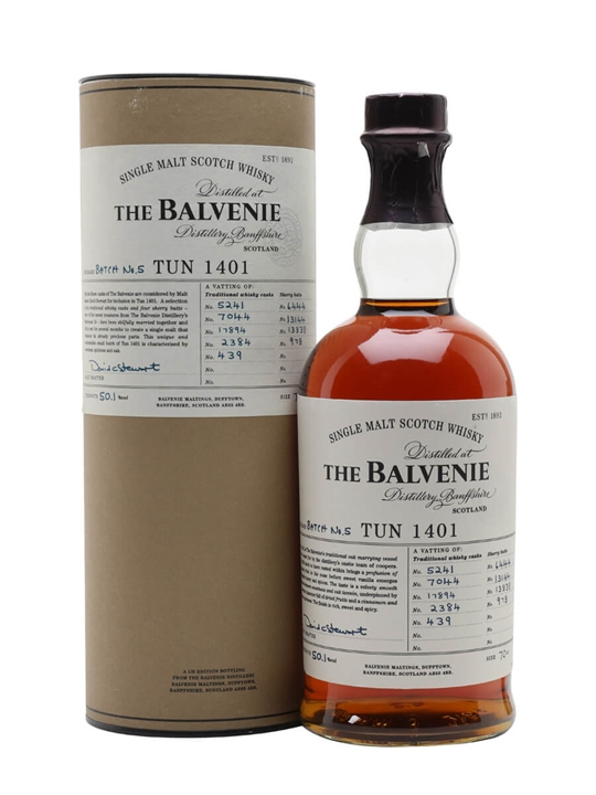 Balvenie Tun 1401 / Batch 5 Speyside Single Malt Scotch Whisky