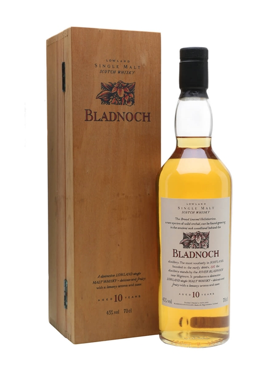 Bladnoch 10 Year Old / 1st Release Lowland Single Malt Scotch Whisky