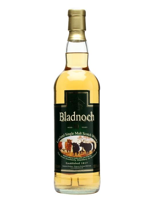 Bladnoch 10 Year Old Lowland Single Malt Scotch Whisky