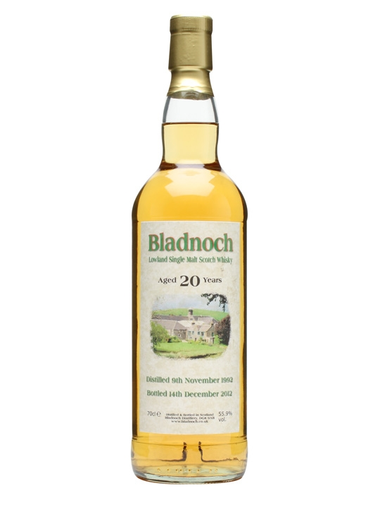 Bladnoch 1992 / 20 Year Old Lowland Single Malt Scotch Whisky