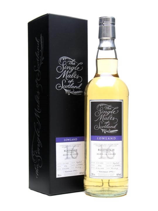 Bladnoch 1992 / 16 Year Old / Single Malts Of Scotland Lowland Whisky