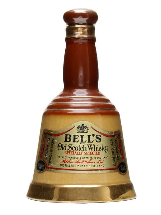 Bell's Old Brown Decanter / Small Decanter Blended Scotch Whisky