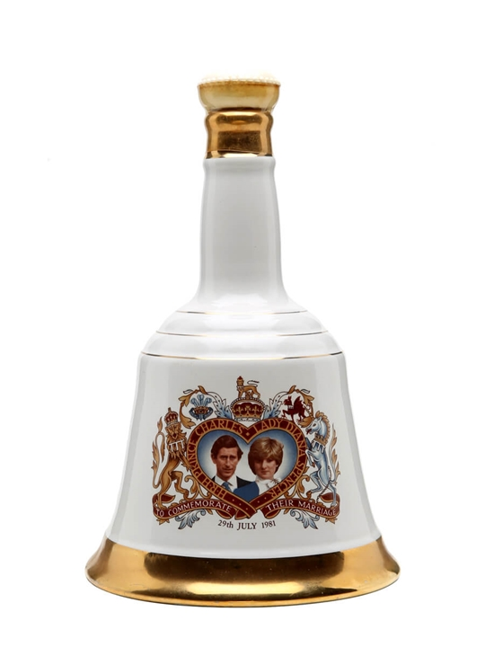 Bell's Charles & Diana (1981) / Unboxed Blended Scotch Whisky