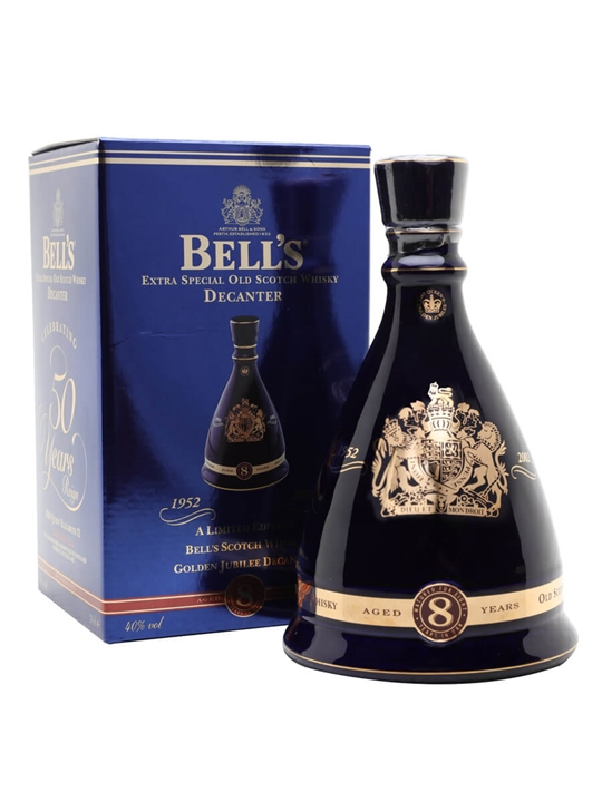 Bell's Queen's Golden Jubilee / 50 Years 1952-2002 Blended Whisky