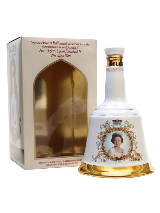 Bell's Queen Elizabeth Ii 60th Birthday (1986) Blended Scotch Whisky