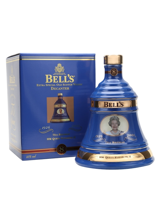 Bell's Queen Elizabeth Ii 75th Birthday Blended Scotch Whisky