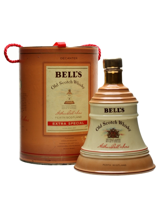 Bell's Tan / Cream Decanter Blended Scotch Whisky