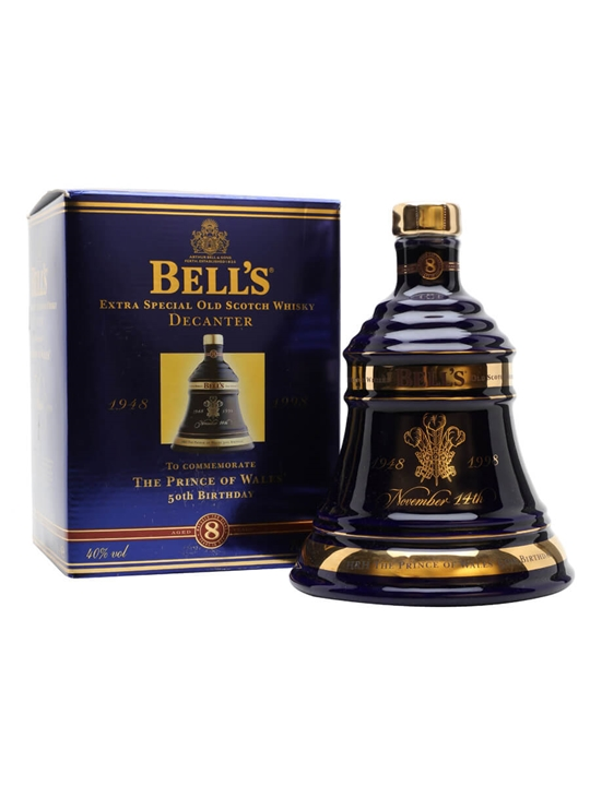 Bell's Prince Of Wales 50th Birthday (1998) / 8 Year Old Blended Whisky