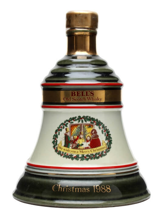 Christmas 1988 / Bell's / Damaged Seal Blended Scotch Whisky