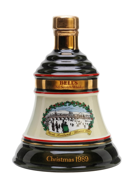 Bell's Christmas 1989 Decanter / Unboxed Blended Scotch Whisky