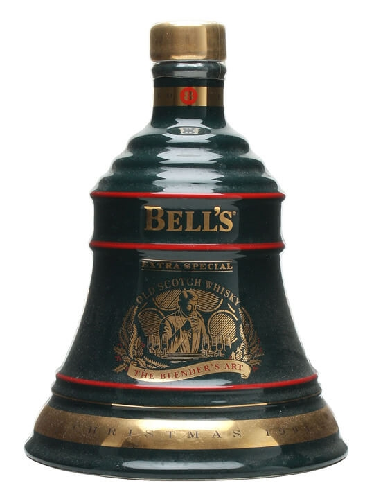 Bell's Christmas 1994 Decanter / Unboxed Blended Scotch Whisky
