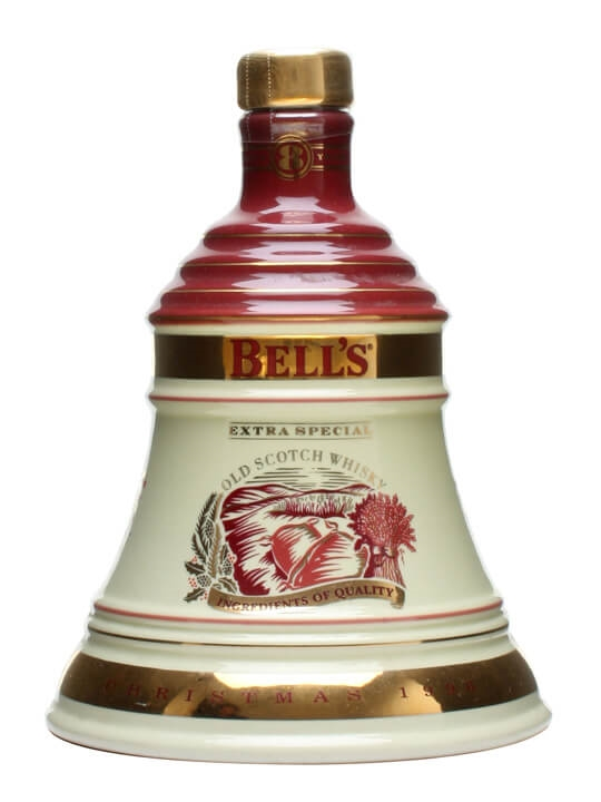 Bell's Christmas 1996 Decanter / Unboxed Blended Scotch Whisky