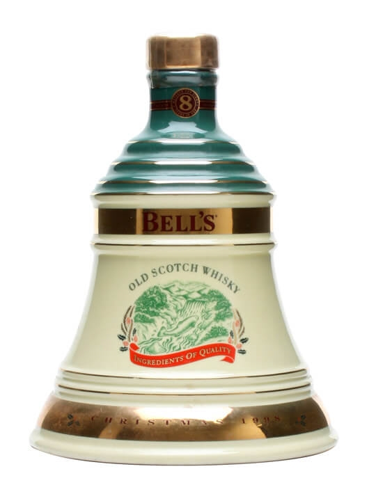 Bell's Christmas 1998 Decanter / Unboxed Blended Scotch Whisky