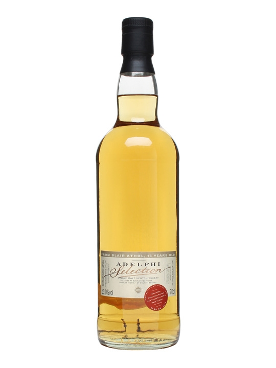 Blair Athol 2000 / 13 Year Old / Cask #4518 / Adelphi Highland Whisky