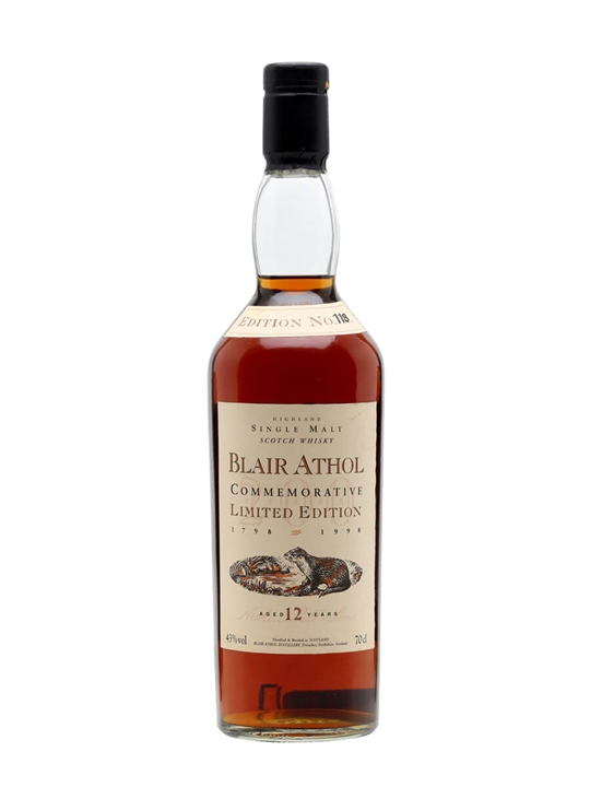 Blair Athol 12 Year Old Bicentenary Highland Single Malt Scotch Whisky