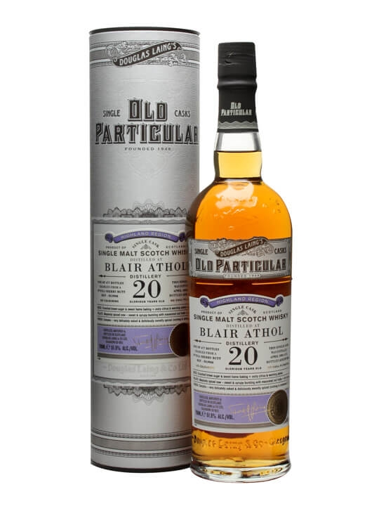 Blair Athol 1993 / 20 Year Old / Sherry Cask /old Particular Highland Whisky