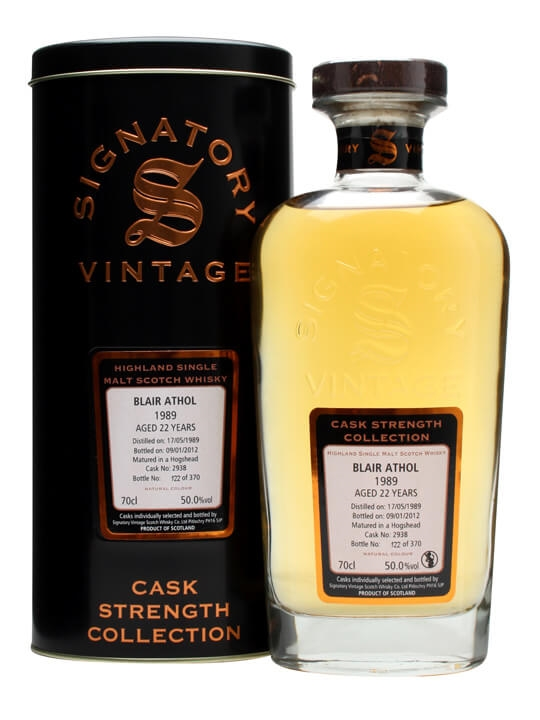Blair Athol 1989 / 22 Year Old / Cask #2938 Highland Whisky