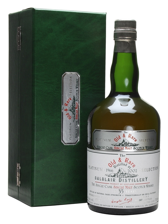 Balblair 1966 / 35 Year Old / Bot.2002 Highland Whisky