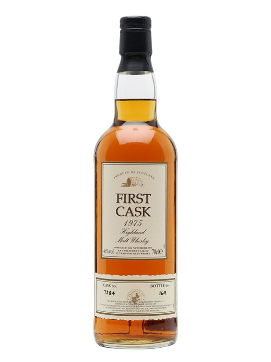 Balblair 1975 / 22 Year Old / First Cask #7283 Highland Whisky