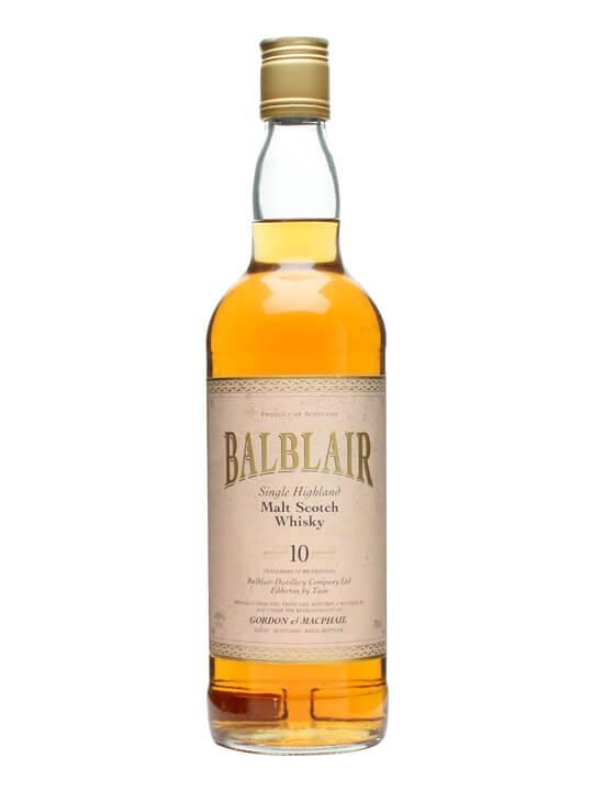 Balblair 10 Year Old / Gordon & Macphail Highland Whisky
