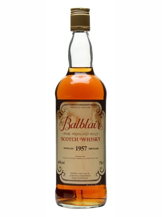 Balblair 1957 / Bot.1980s Highland Single Malt Scotch Whisky