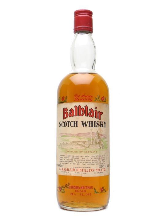Balblair Vh / Bot.1970s Highland Single Malt Scotch Whisky