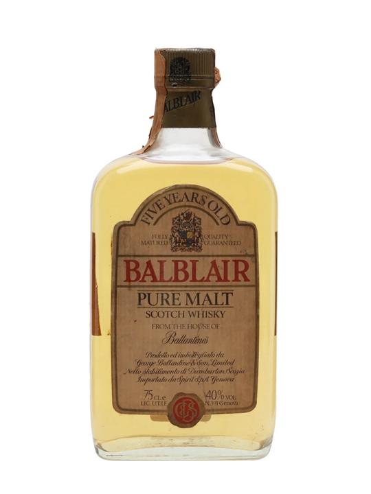 Balblair 5 Year Old / Bot.1980s Highland Single Malt Scotch Whisky