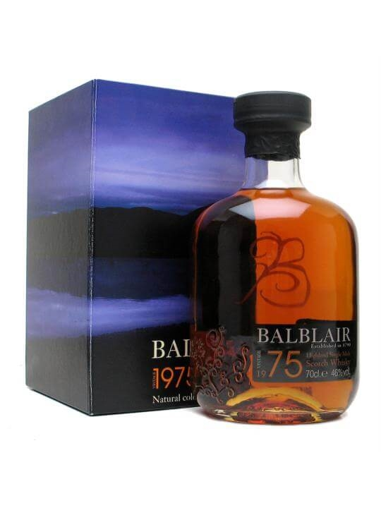 Balblair 1975 / Sherry Cask Highland Single Malt Scotch Whisky
