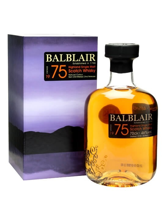 Balblair 1975 / 2nd Release Highland Single Malt Scotch Whisky