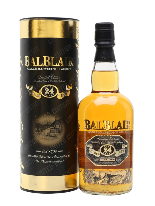 Balblair 1979 / 24 Year Old Highland Single Malt Scotch Whisky