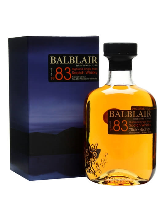 Balblair 1983 / 1st Release Highland Single Malt Scotch Whisky